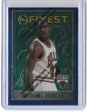1995-96 Topps Finest #229 Michael Jordan w/ Coating Chicago Bulls 90s SP 1990s