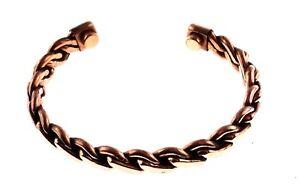 Magnetic Copper Bracelet for Men for Women; Rope Design for Arthritis