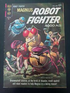 MAGNUS ROBOT FIGHTER #6 1964 VF- 7.5 Russ Manning GOLD KEY **LOOK**