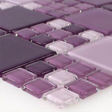 Glas Mosaik Fliesen Braga %7c Wand Bad Dusche Küchenspiegel Wohnzimmer WC