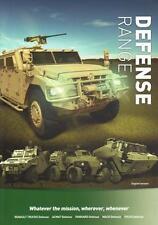RENAULT DEFENSE RANGE 2014 FRENCH ARMY MILITARY BROCHURE PROSPEKT FOLDER