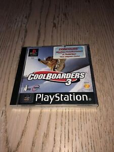 Jeu Cool Boarders 3 Sony Playstation Ps1 Version Fr Pal Complet CiB Ps One Rétro