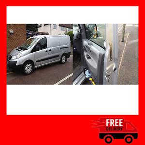 Peugeot Expert 2007-2016 Front Doors Van Security Deadlocks Kit
