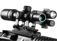 Barska AC10770 5X20 Tactical Scope w/Red Laser, Flashlight & Riser Mount Combo