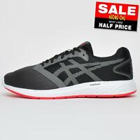 Asics Patriot 10 Men's Running Shoes Fitness Gym Sports Trainers Grey