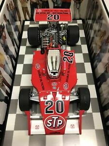 Carousel 1 Gordon Johncock STP Patrick Eagle Offy 1973 Indy 500 Winner 1:18 NIB