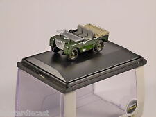 "LAND ROVER 80"" FLAT BACK 1/76 model OXFORD DIECAST"