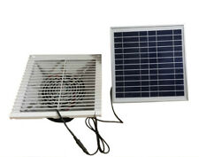 135CFM SOLAR PLASTIC WALL FAN 20W EXHAUST VENTILATOR EXTRACTOR for CONTAINER