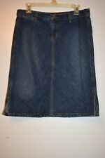 Vintage GUESS Jeans denim straight skirt
