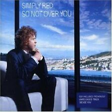 SIMPLY RED So Not Over You EDIT & UNRLEASE UK CD single