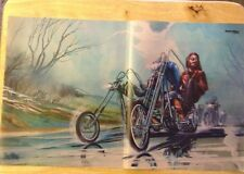 David Mann Reproduction Poster Puttin in the Rain Easyriders