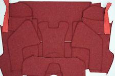 PORSCHE 356 A  COUPE ORIGINAL GERMAN SQUARE WEAVE CARPET KIT 1958 - 1959 RED