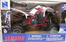 Newray diecast model Yamaha Raptor 660 model toy quad scale 1:12