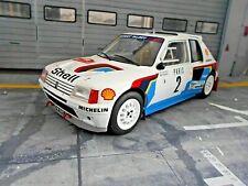PEUGEOT 205 T16 Rallye Gr.B Monte Carlo WM 1985 #2 Vatanen Harr Winner IXO 1:18