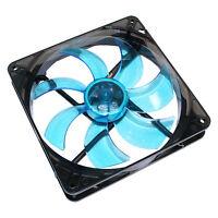 Cooltek * Silent Fan * Gehäuselüfter 140x140x25mm * blaue LEDs * 900 U/Min * TOP