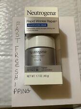 Neutrogena Rapid Wrinkle Repair Cream  1.7 oz Regenerating Cream EXP-12/2021