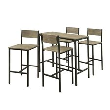SoBuy® Set of 4 Stools,Dining Bar Bistro Breakfast Table Chairs Set, OGT14,UK