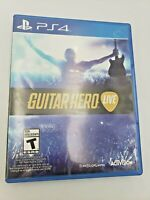 Guitar Hero Live (Sony Playstation 4, 2015) No Manual Free Shipping