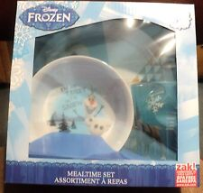FROZEN DINNERWARE MEALTIME SET FEATURING OLAF 3 PC FOOD & DISHWASHER SAFE