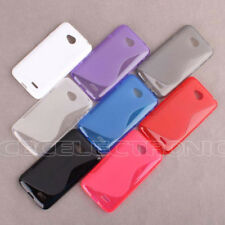 1xNew Skidproof Rubber Gel skin case Cover for LG Optimus L70 D320 D325