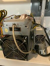Bitmain antminer L3+ with Power Supply and Custom Firmware