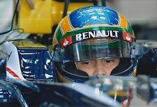 Bruno Senna Hand Signed 12x8 Photo Williams F1 16.