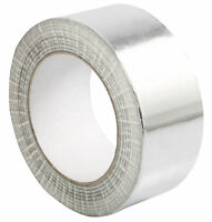 12Rolls of Auminium Foil SelF*Adhesive 48mmX50m HeaT Reflecting Insulation Tape*