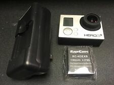 GOPRO HERO3+SILVER CAMERA w/ Battery+Charger perfect working order