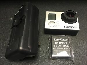 GOPRO HERO3+SILVER CAMERA FULL SPECTRUM IR INFRARED MODIFIED NIGHT VISION MOD