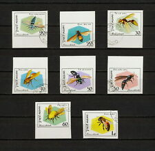 (YYAZ 804) Vietnam 1982 IMPERF NH Mich 1204 -11 Scott 1172 -79 Insects