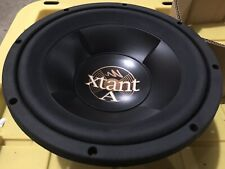 NOS 2x Rare Old School Xtant A410 Car Stereo 10 Subwoofer Audio Amp Sub Speakers