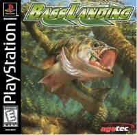 Bass Landing - PS1 PS2 Playstation Game Only