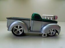 MUSCLE MACHINES - FUEL INJECTED (1941) '41 WILLYS PICKUP TRUCK - 1/64 (LOOSE)