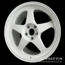 "18"" ROTA Slipstream R 5/114.3 +28 White WHEELS RIMS FORD, TOYOTA, HONDA"