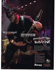 2008 IBANEZ MTM1 Electric Guitar MICK THOMPSON Slipknot SEVEN  advertisement