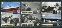 New Zealand NZ 2018 MNH TEV Wahine 50th Anniv 6v Set Ships Boats Stamps