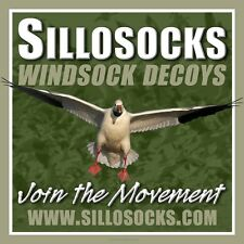 Sillosocks Hen Mallard Flapping Flyer Duck Decoy 1302 Sillosock Decoys Windsock