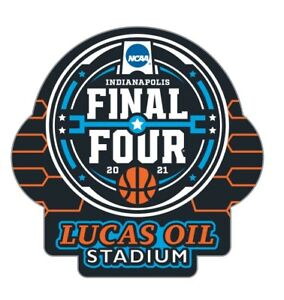 "FINAL FOUR 2021 PIN ""BRACKET"" STYLE COLLEGE BASKETBALL NCAA LUCAS OIL STADIUM"