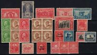P126884/ UNITED STATES – 1923 / 1929 MINT SEMI MODERN LOT – CV 135 $