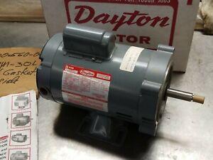 New Dayton 6K580B Jet Pump Motor 1/2HP FR 56J 3450 RPM 115/230V 1 Phase