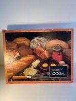 Vintage Just Imagine Milton Bradley Puzzle -Staff Of Life 1986 1000 Pieces