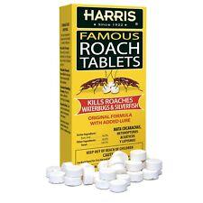 HARRIS ROACH BAIT TABLETS Roach Killer Tablets - 50 Tablets w/ Boric Acid
