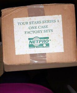 1991 NETPRO TENNIS Sealed case of 20 sets