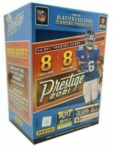 Panini NFL 2021 Prestige Football Blaster Box Trading Cards Factory Sealed