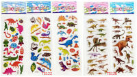 5pcs dinosaur Animals Stereoscopic decorative stickers PVC puffy for kids gift