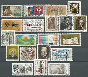 Germany 1980 used Commemorative Stamps