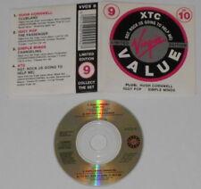 "XTC, Hugh Cornell, Iggy Pop, Simple Minds - U.K. 3"" cd, Card cover"