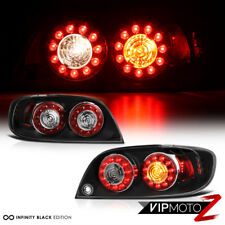 2004-2008 Mazda RX8 RX-8 Shinka Nemesis Rear JDM Black LED Rear Tail Lights Lamp