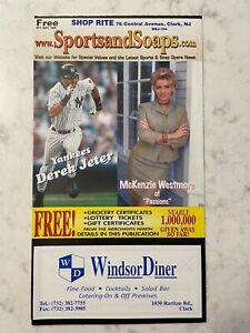 1999 Sports and Soaps Oct-Nov TV Guide - DEREK JETER, ROGER CLEMENS, BRETT FAVRE