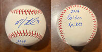AJ Reed Signed Baseball 2014 Golden Spikes Award KENTUCKY Rawlings ROMLB